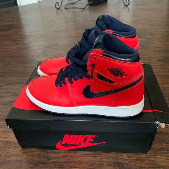new concept ceefb b504d Nike Air Jordan 1 (David Letterman)